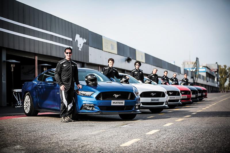 Ford Argentina presentó el Mustang en nuestro país.