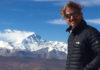 Facundo Arana en el Everest