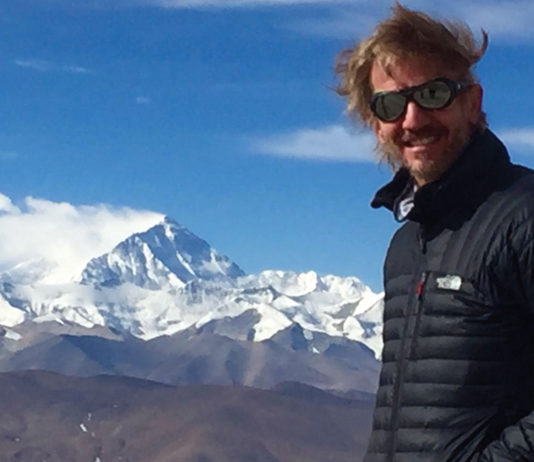 Facundo Arana en el Everest
